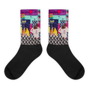 Colorful bold socks - vivid and colorful summer clothes by Somejam - Alone with myself - Socks