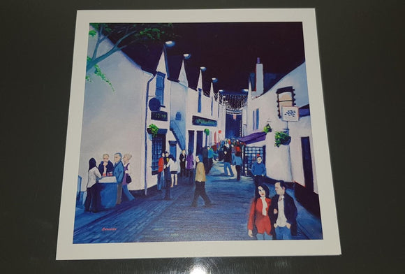 Art greetings card - Ashton Lane