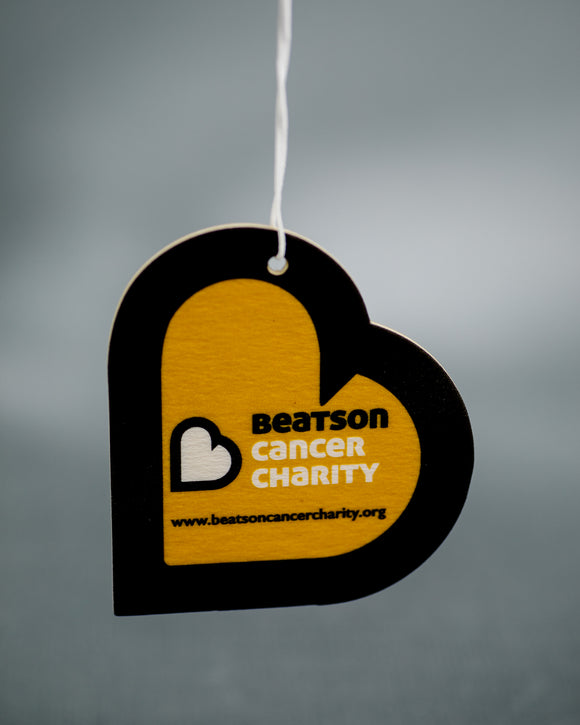 Beatson Cancer Charity Car Air Freshener