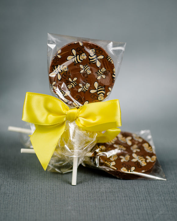 Beatson Cancer Charity Milk chocolate lollipop