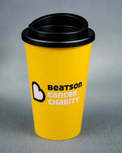 Beatson Cancer Charity Thermal mug - yellow