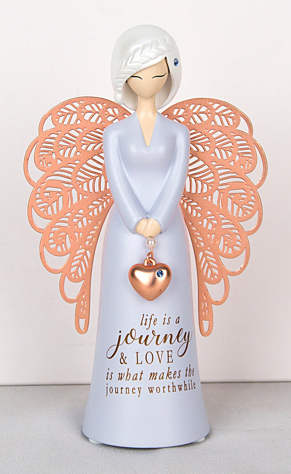 Angel Figurine - Life is a journey