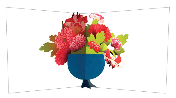 Pop up card - Flower bouquet