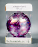 Sienna Glass Attraction Orb - Healing