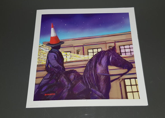 Art greetings card- The Duke