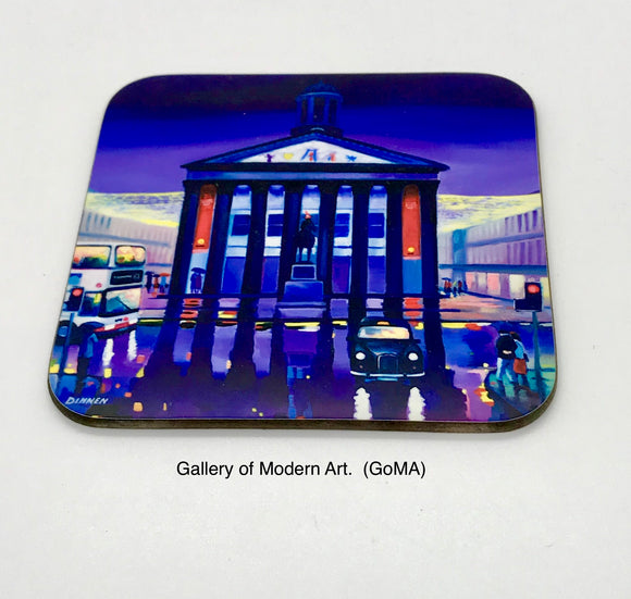 Art coaster - The GoMA, Glasgow