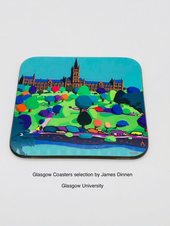 Art coaster - Glasgow University