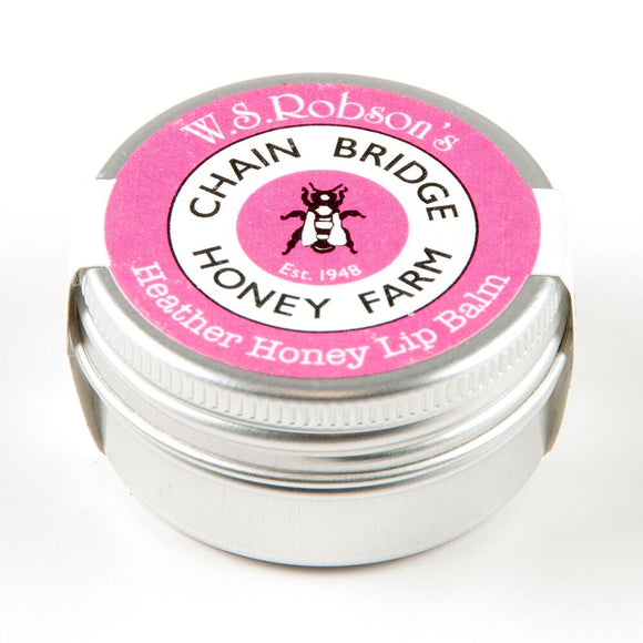 Chainbridge Honey and Beeswax Lip balm - Heather honey