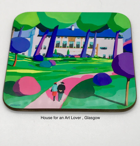 Art coaster - House for an Art Lover