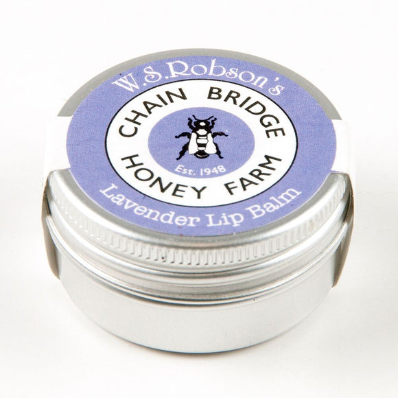 Chainbridge Honey & Beeswax Lip balm - Lavender