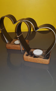 Single Heart Tealight holder