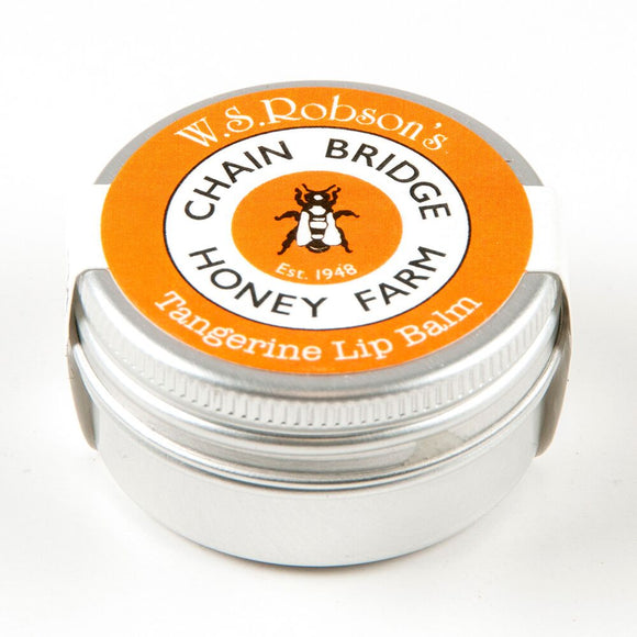 Chainbridge Honey & Beeswax Lip balm - Tangerine