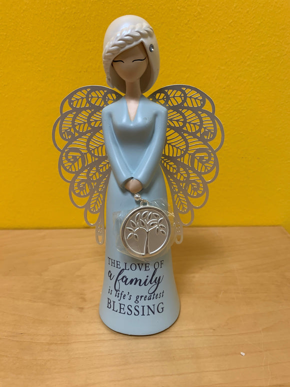 Angel Figurine -Love of a Family