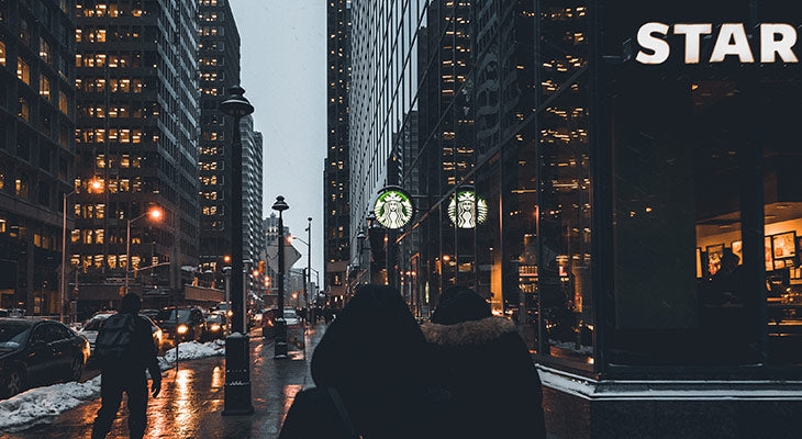 Starbucks in Ottawa, Canada. Photo by Marc-Olivier Jodoin.