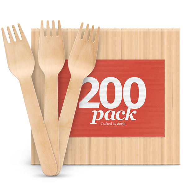 Disposable Wooden Forks