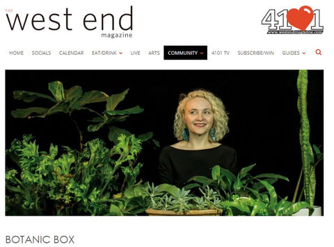 West End Magazine Botanic Box