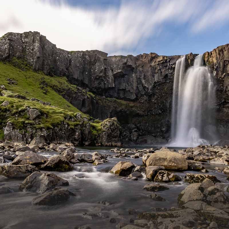photo of Iceland waterfall