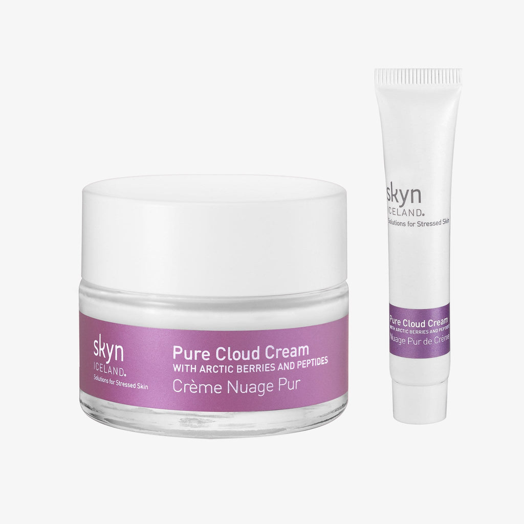 Photo of full size and mini Pure Cloud Cream