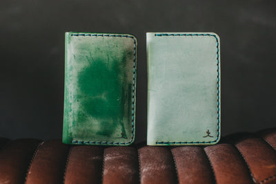 Vertical Card Wallet Ghost