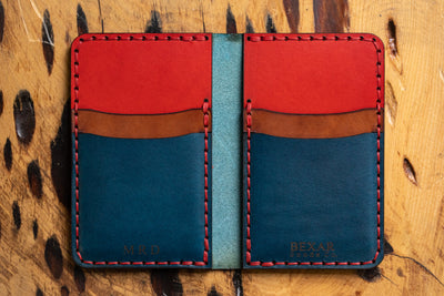 Create - Vertical Card Wallet W/ CLIP