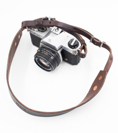 Vagabond Camera Strap // Dark Brown
