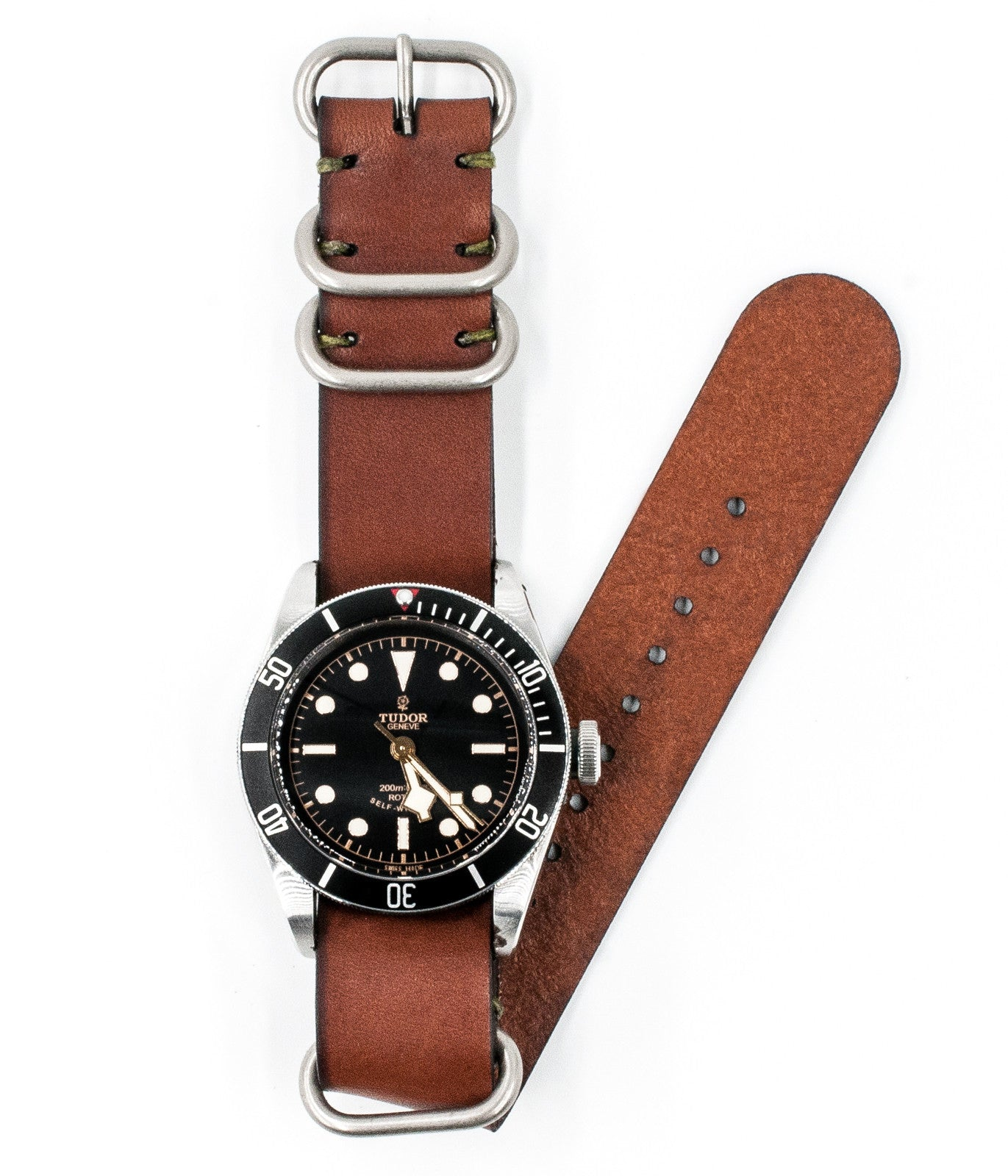 NATO Watch Strap Medium Brown