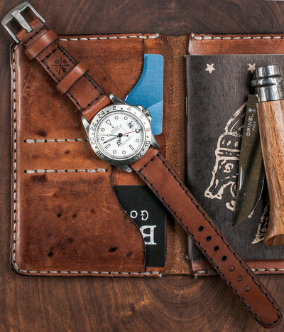 Explore Watch Strap - Medium Brown