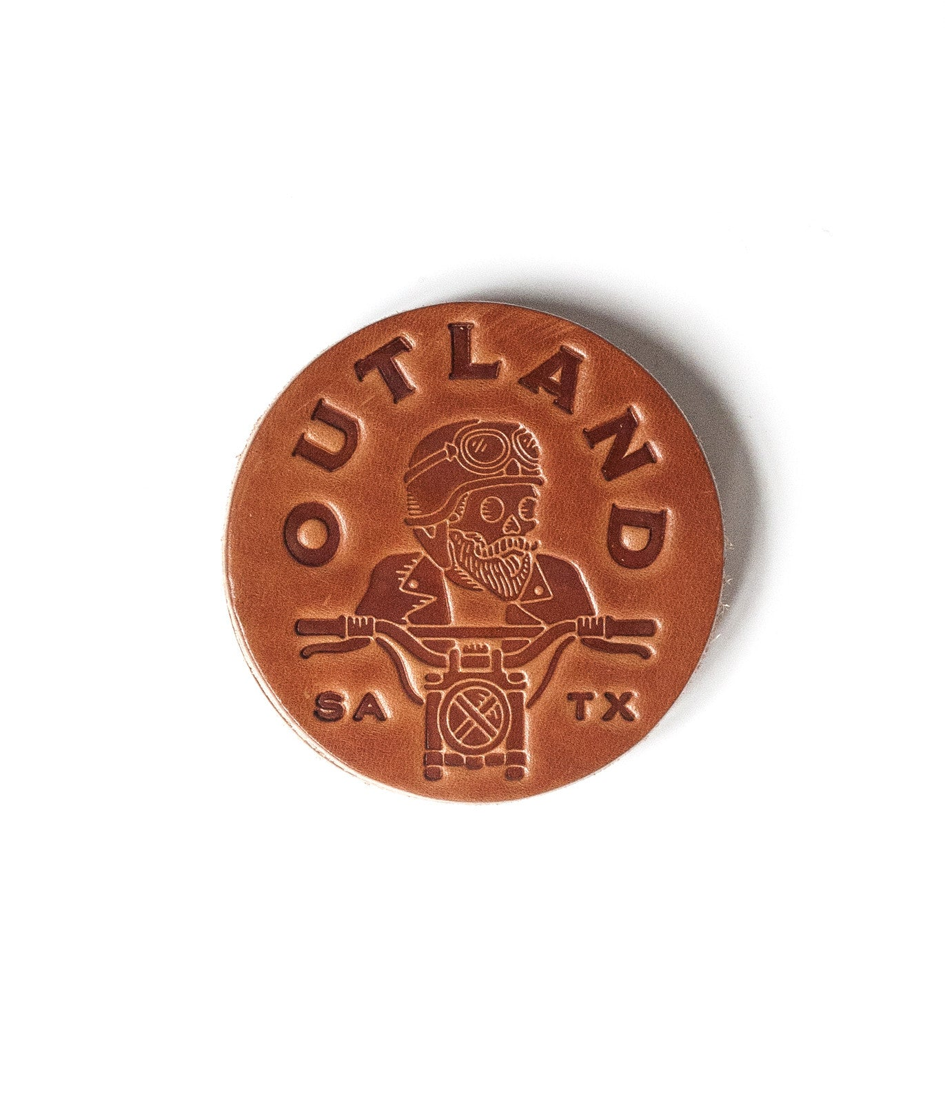 Outland Moto Leather Coasters - Ships in 2+ Weeks