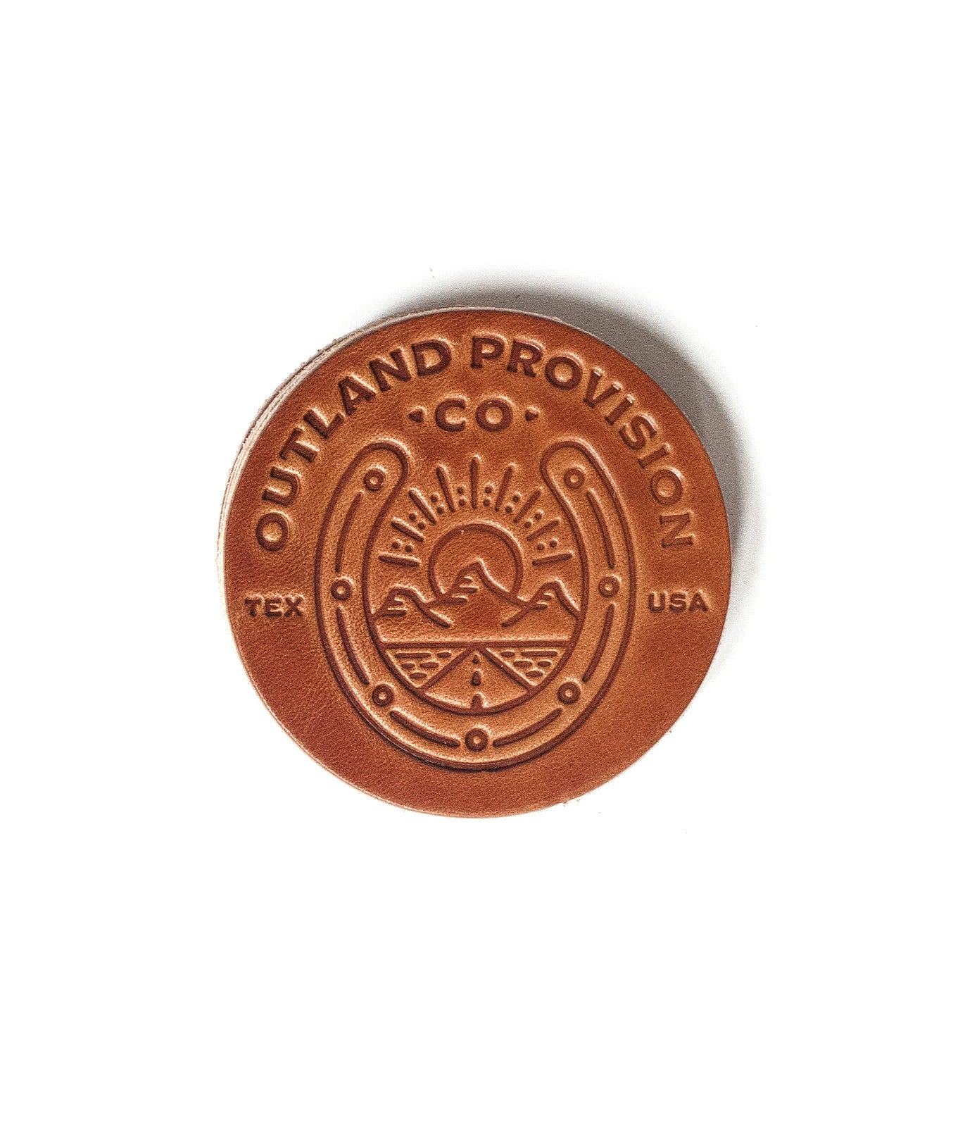 Outland Lucky Leather Coasters