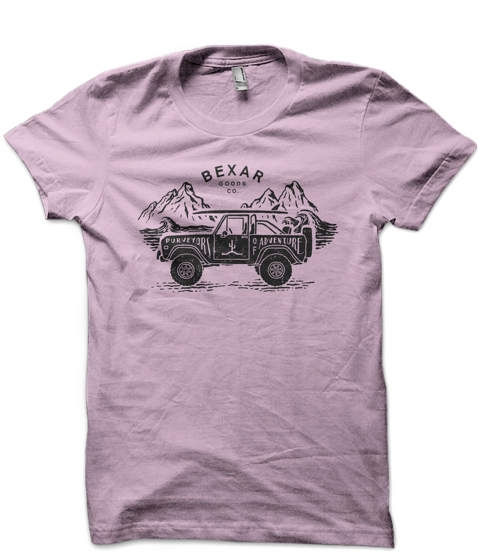 Surf 4x4 T-Shirt // Summer Pink