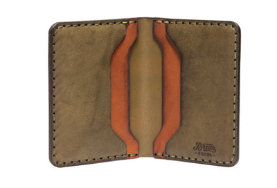No. 14 Card Wallet // Woodland
