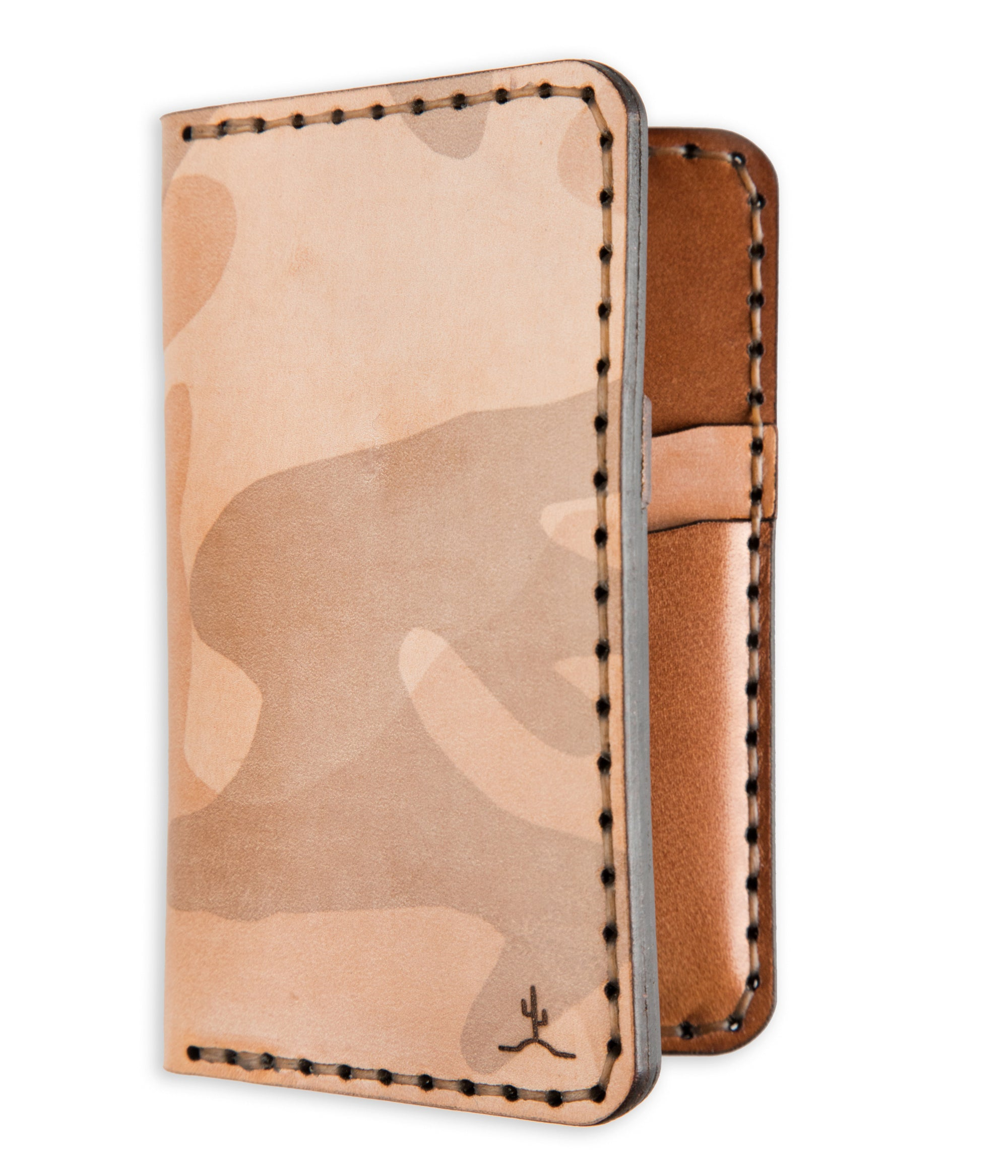 Vertical Wallet Ghost Sand Camo