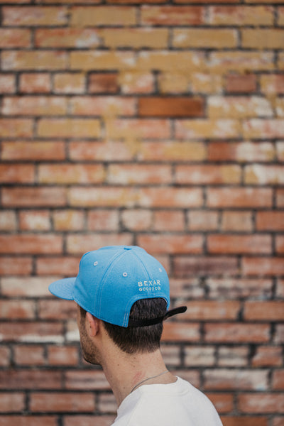 Flying Cactus Ebbets Cap // Cosmic Blue