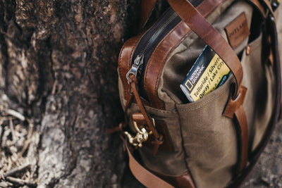 Land Messenger - Bag Preorder = Free Slim wallet