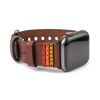 Apple Watch Strap // Medium Brown Bolt