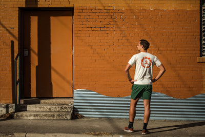 Bexar Run Crew T-shirt :: Natural