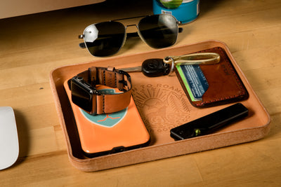 Born to Roam Valet Tray