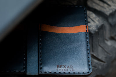 Vertical Card Wallet // Driftwood