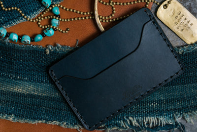 Navy Slim Wallet