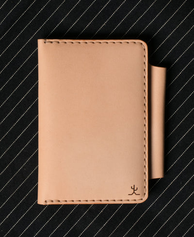 Field Notes Wallet Raw Veg Tan
