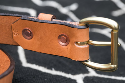 Keeper Brass Belt 1.25""