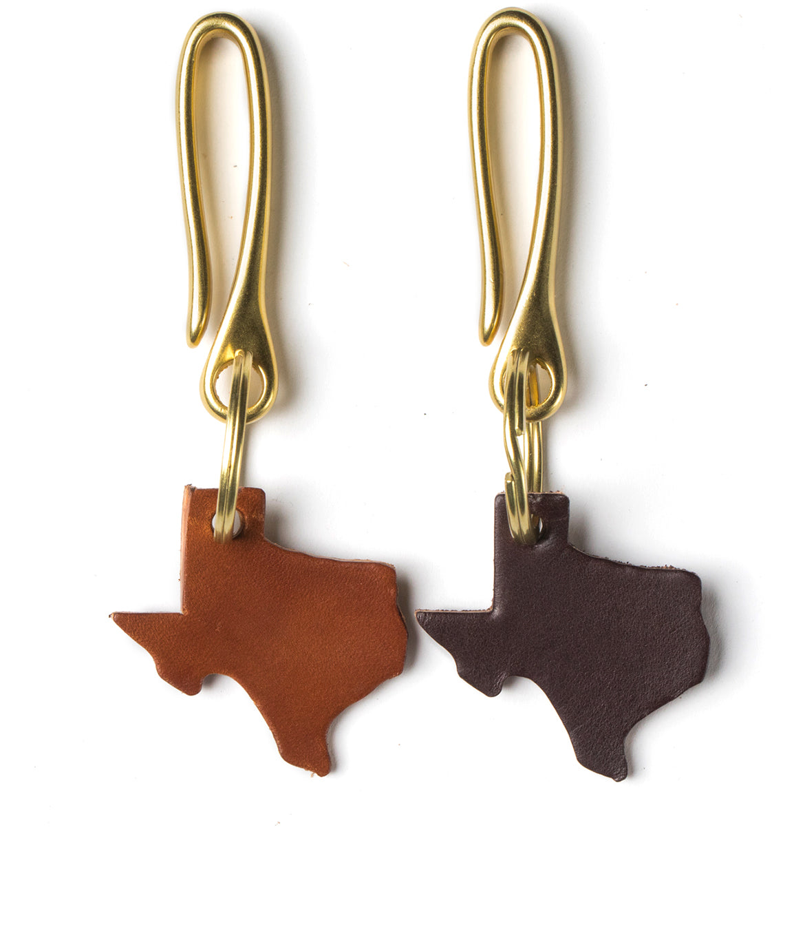 Texas Fish Hook Key Fob