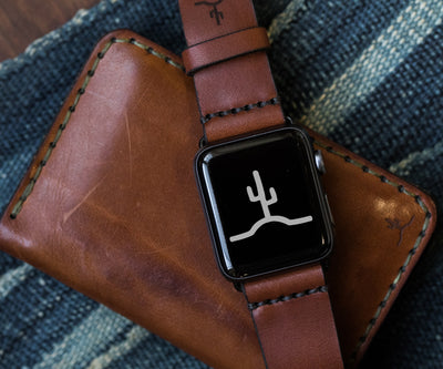 Apple Watch Strap // Medium Brown