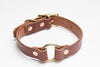 Country Dog Collar // Medium Brown