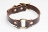 Country Dog Collar // Dark Brown