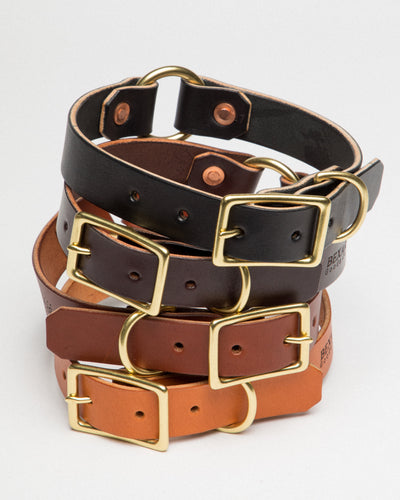 Country Dog Collar // Tan