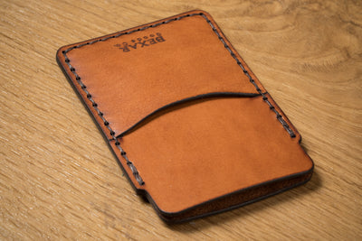 Simple Card Wallet with Money Clip - 4 WEEKS DELAYED