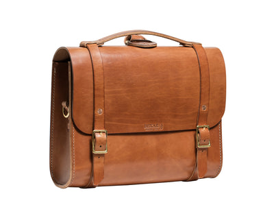 Porter Satchel // Buck Brown