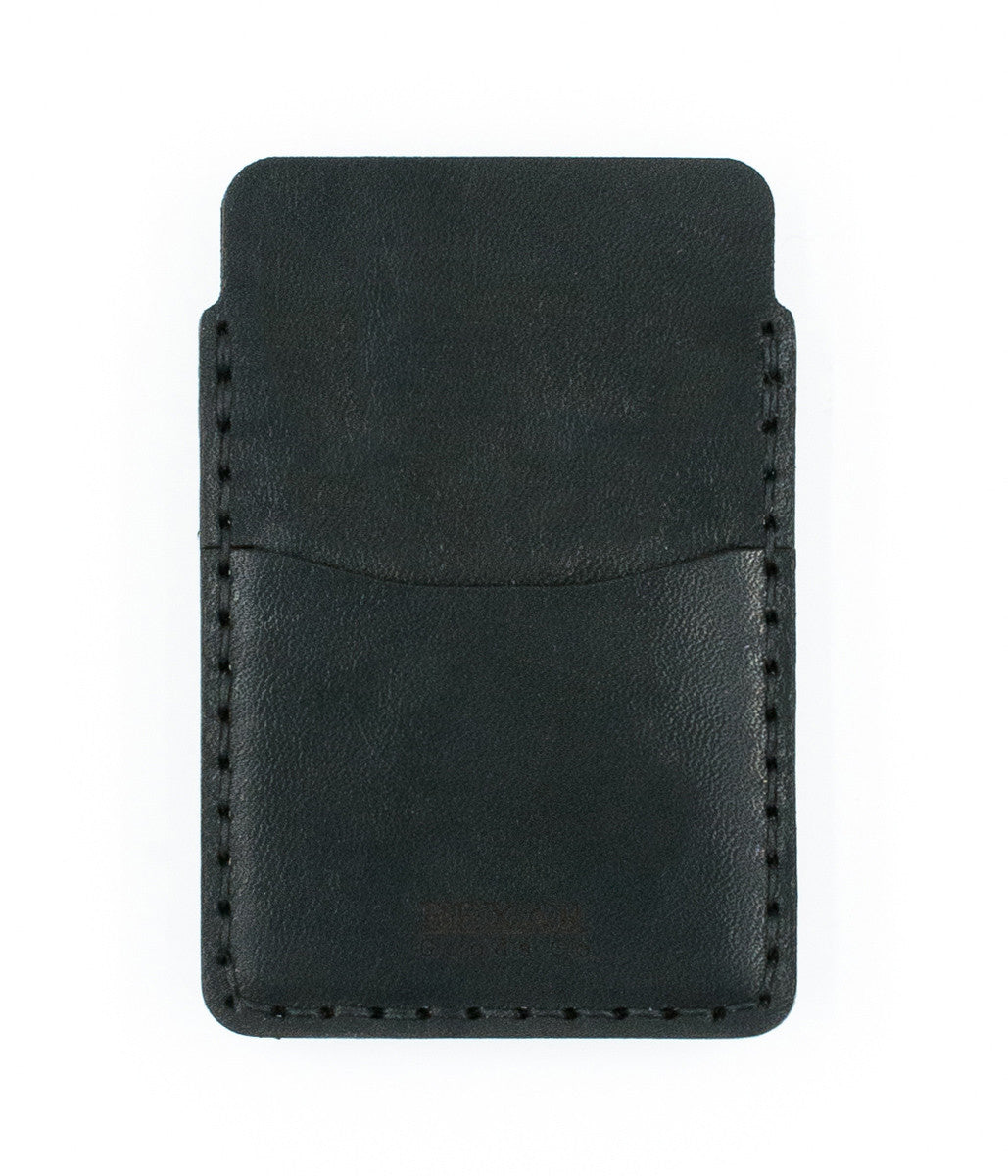 Simple Card Wallet- Black