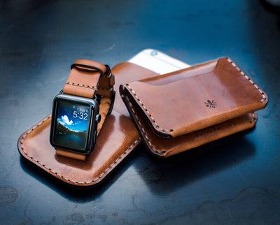 Apple Watch Strap // Whiskey Cordovan